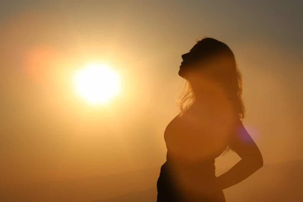 Dein Licht leuchtet und du bist frei